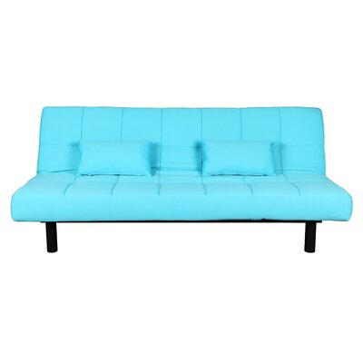 Contemporary Outdoor Sea Foam Convertible Sofa