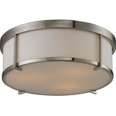 Rollo 3-Light Flush Mount