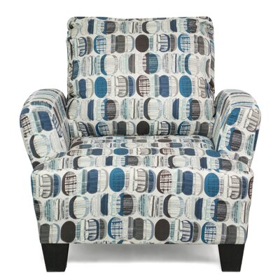 Mullins Accent Arm Chair Upholstery: Energy Lagoon