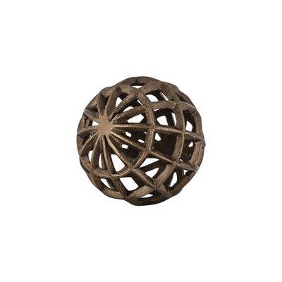 Antique Brass Decorative Globe