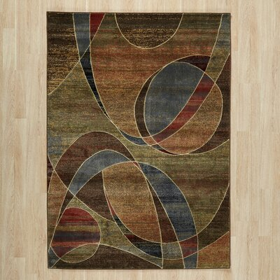 Area Rug Rug Size: Rectangle 53 x 75
