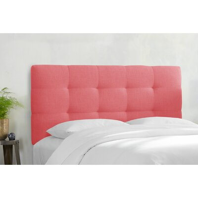 Berlin Upholstered Panel Headboard Size: California King