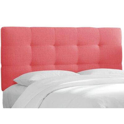 Berlin Upholstered Panel Headboard Size: Queen