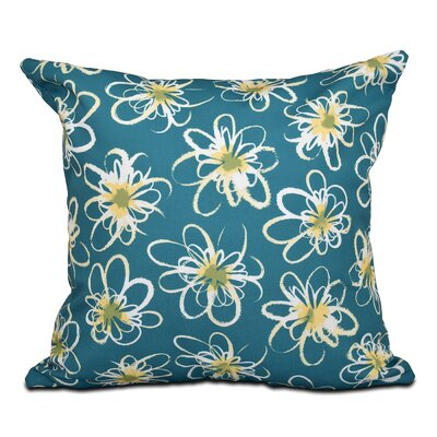 Cherry Penelope Geometric Print Throw Pillow Size: 16