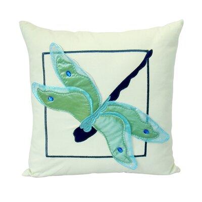 Felt Dragonfly Outdoor Pillow