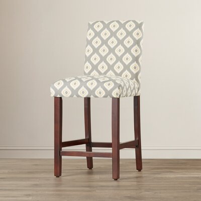 Bernadette 25 Bar Stool Upholstery: Emotions Tribal Red