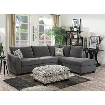Collinsville Sectional Upholstery: Ink