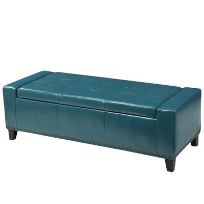 Austral Storage Ottoman Upholstery: Teal