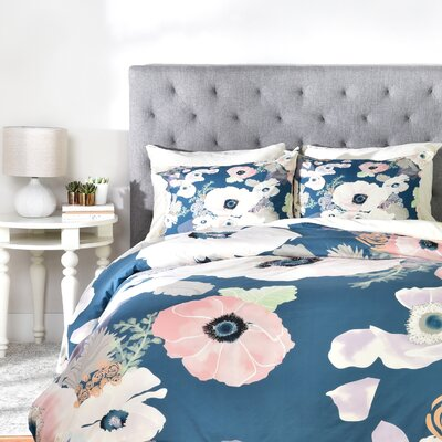 Bardia Duvet Cover Size: Queen