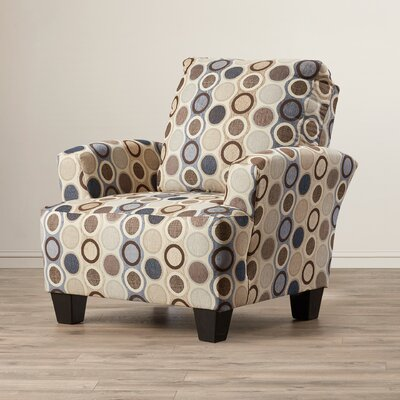 Mullins Accent Armchair Upholstery: Eclipse Spa