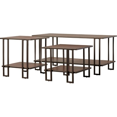 Ruben 3 Piece Coffee Table Set