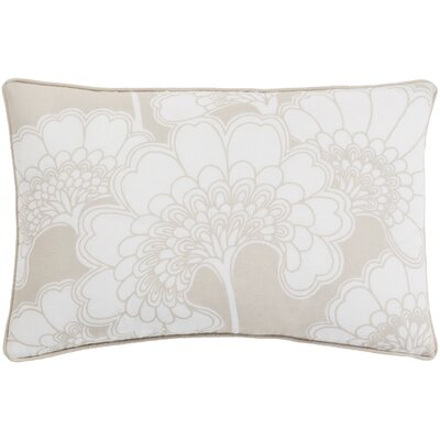 Oakdale Rectangular Lumbar Pillow Color: Beige/Ivory