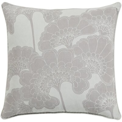 Oakdale Square Throw Pillow Size: 20 H x 20 W x 5 D, Color: Taupe