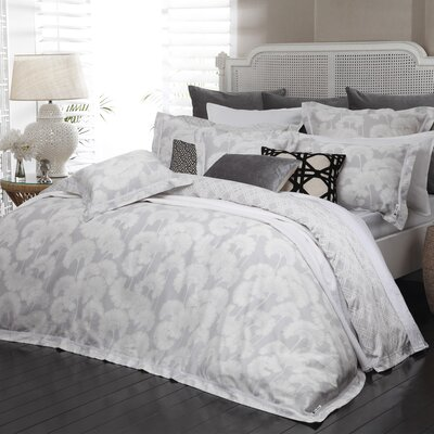 Karratha 3 Piece Reversible Duvet Cover Set Color: Lemon/Light Gray, Size: Full/Queen