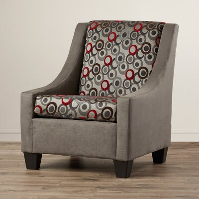 Belinda Armchair Color: Gray