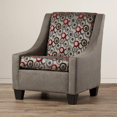 Belinda Arm Chair Color: Gray