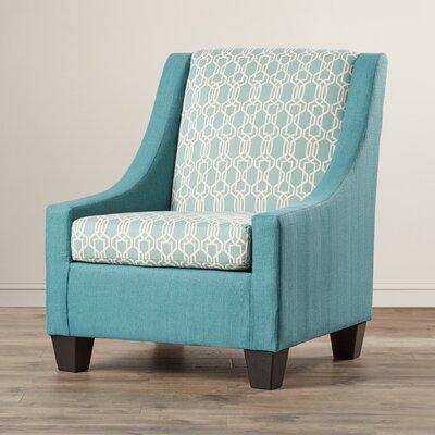 Belinda Armchair Color: Teal
