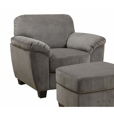 Bianca Arm Chair and Ottoman