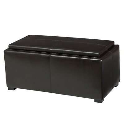 Kegan 3 Piece Lift Top Ottoman Set Upholstery: Brown