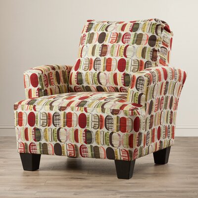 Mullins Accent Armchair Upholstery: Energy Charm