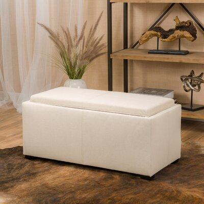 Kegan 3 Piece Lift Top Ottoman Set Upholstery: Beige