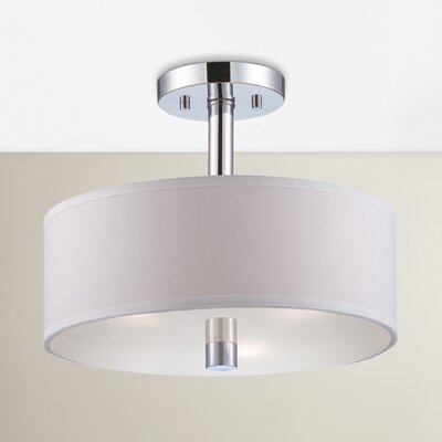 Wittig 3-Light Semi Flush Mount