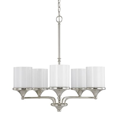 Cahill 5-Light Shaded Chandelier
