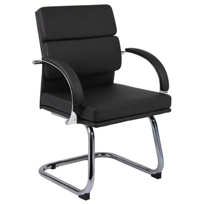 Margaret Guest Chair Color: Black
