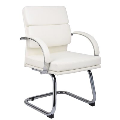 Margaret Guest Chair Color: White