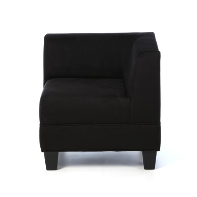 Woodhouse Corner Side Chair Upholstery: Montana Midnight