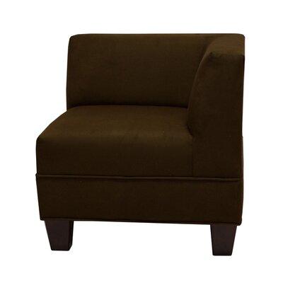 Woodhouse Corner Side Chair Upholstery: Montana Chocolate
