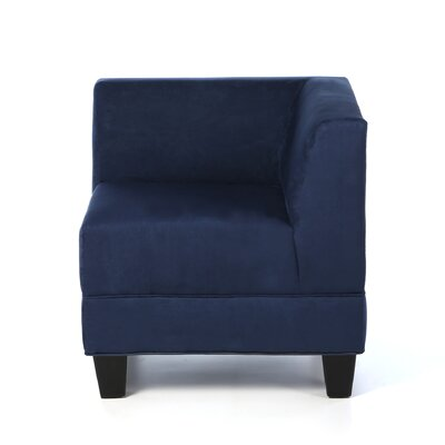 Woodhouse Corner Side Chair Upholstery: Montana Navy