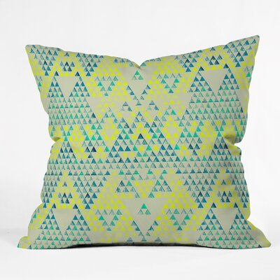 Carlton Triangle Marine Indoor/Outdoor Throw Pillow Size: Small