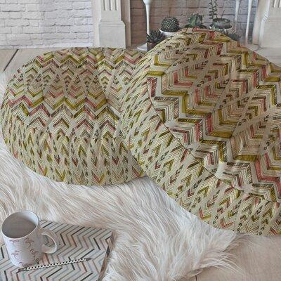 Carlton Round Floor Pillow Size: 23 H x 23 W x 6 D