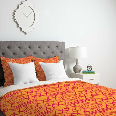 Yancey Duvet Cover Size: Twin, Fabric: Lightweight