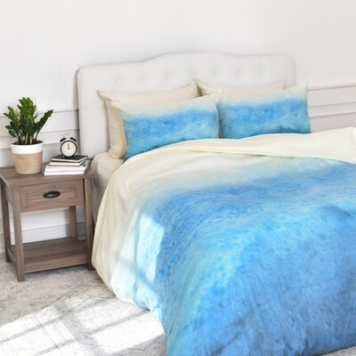 Currans Fade Duvet Cover Set Size: King