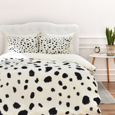 Currans Dalmatian Duvet Cover Set Size: Twin/Twin XL