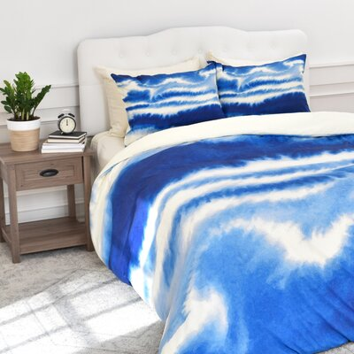 Martin Ombre Waves Duvet Cover Set Size: Twin/Twin XL