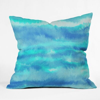 Martin Ombre Waves Outdoor Throw Pillow Size: 18 H x 18 W x 5 D