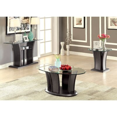 Leonis 3 Piece Coffee Table Set