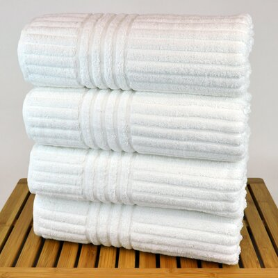 Hilgard Turkish Bath Towel Color: White