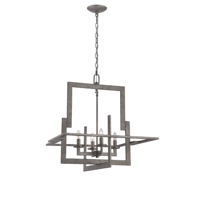 Tyron 4-Light Foyer Pendant