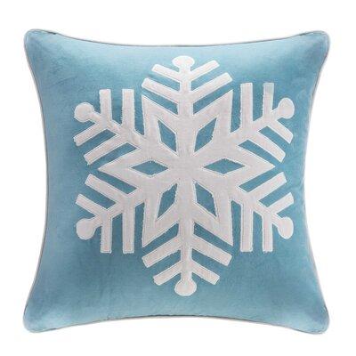 Iroh Snowflake Cotton Throw Pillow