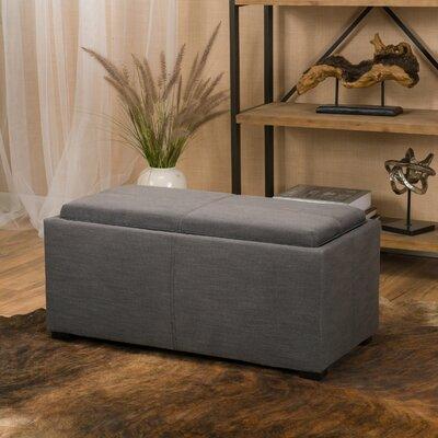 Kegan 3 Piece Lift Top Ottoman Set Upholstery: Grey