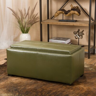 Kegan 3 Piece Lift Top Ottoman Set Upholstery: Green Tea