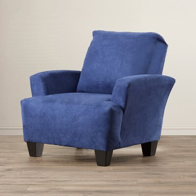 Mullins Accent Armchair Upholstery: Porsche Baybreeze