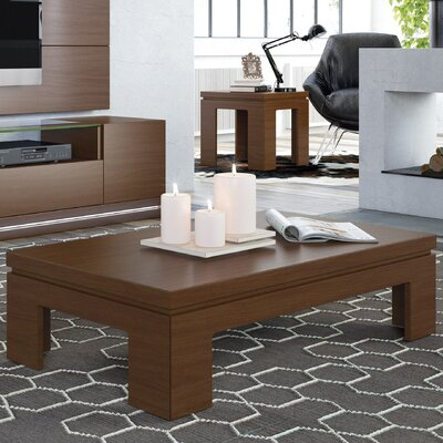 Belwood 2 Piece Coffee Table Set Color: Nut Brown