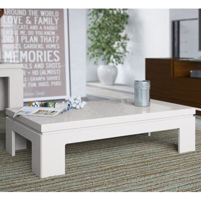 Belwood Coffee Table Finish: Off White