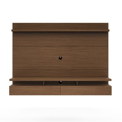 Boone Entertainment Center Finish: Nut Brown