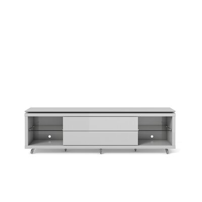 Franklin TV Stand Finish: White Gloss